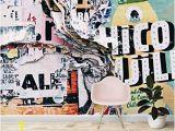 Banksy Wall Mural Wallpaper Wall26 Wall Mural Creative Graffiti Background Removable Self Adhesive Wallpaper 66×96 Inches