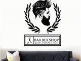 Barber Shop Wall Murals Barber Shop Hipster Wall Art Sticker Decal Amazon Diy & tools