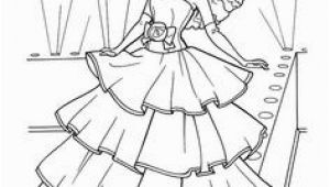 Barbie A Fashion Fairytale Coloring Pages to Print 48 Best Color Barbie Images On Pinterest