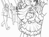 Barbie and the Popstar Coloring Pages Barbie the Princess and the Popstar Characters Coloring
