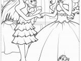 Barbie and the Popstar Coloring Pages Barbie the Princess and the Popstar Coloring Page