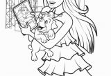 Barbie and the Popstar Coloring Pages Coloring Pages Barbie the Princess and the Popstar Full