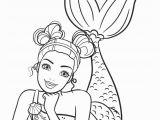 Barbie Mermaid Coloring Pages for Kids Barbie Mermaid Coloring Page In 2020