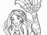 Barbie Mermaid Coloring Pages for Kids Beautiful Mermaid Barbie Coloring Pages Youloveit