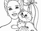 Barbie Princess Coloring Pages Free Printable Barbie Princess Coloring Page