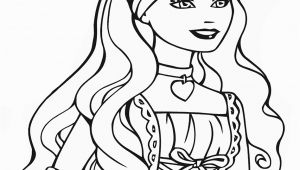 Barbie Princess Coloring Pages Free Printable Barbie Princess Coloring Pages