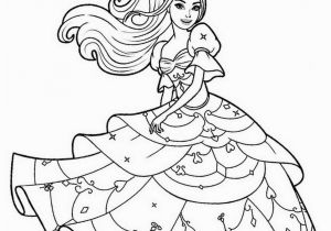 Barbie Princess Coloring Pages Free Printable Beautiful Barbie Princess Coloring Page Free Printable