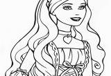 Barbie Princess Coloring Pages to Print Barbie Princess Coloring Pages