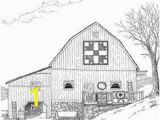 Barn Coloring Book Pages Barns