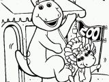 Barney and Friends Coloring Pages Free Get This Line Coloring Pages Of Barney and Friends for