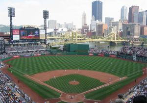 Baseball Field Mural Citizens Bank Park Vs Pnc Park Baseball Parks Pinterest