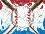 Baseball Murals for Walls Baseball Flag Background Wall Mural • Pixers • We Live to Change