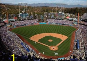 Baseball Stadium Wall Mural Los Angeles Dodgers Wall Decorations Dodgers Signs Posters Tavern