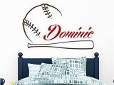 Baseball Wall Murals Cheap Baseball Name Wall Decal Boy Custom Personalized Boys Name Decor