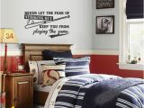 Baseball Wall Murals Cheap Baseball Wall Decal Never Let the Fear Striking Out