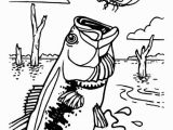 Bass Fish Coloring Pages Bass Fish Catching Dragonfly Coloring Pages Best Place to