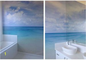 Bathroom Wall Mural Ideas Simple Beach Mural Not too Much to It but Skillfully