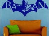 Batman Wall Mural Decal Batman Superhero Dc Ic Wall Art Stickers Decals Vinyl Justice League