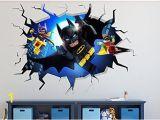 Batman Wall Mural Decal Pin On Home Decor