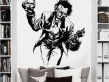 Batman Wall Stickers Murals Us $10 26 Off Heath Ledger Joker Wall Sticker Ics Superhero Dc Marvel Vinyl Decal Home Interior Decoration Room Art Mural In Wall Stickers From