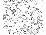 Beach Scene Coloring Pages for Adults Beach Scenes Coloring Pages Coloring Home