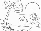 Beach Scene Coloring Pages for Adults Free Printable Beach Coloring Pages for Kids