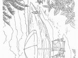 Beach Scene Coloring Pages for Adults Pin On Painting