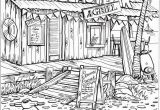 Beach Scene Coloring Pages for Adults Wel E to Dover Publications Creative Haven Summer Scenes