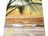 Beach Scene Tile Murals 84 Best Landscapes Tile Murals Images In 2019