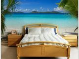 Beach Wall Murals for Bedrooms Love This Tropical Bedroom Mural Romantic Home Pinterest