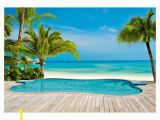 Beach Wall Murals for Sale Provincial Wallcoverings Wall Decals & Sticker Dm127 Tropical