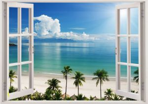 Beach Window Wall Murals Pin by Bryndis Curtin On Diy Projects