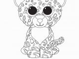 Beanie Boo Coloring Pages Only Print Leona Beanie Boo Coloring Pages