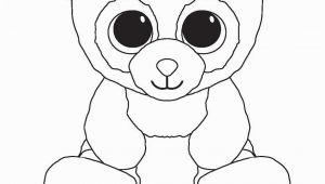 Beanie Boo Coloring Pages to Print Beanie Boo Coloring Pages for Kids
