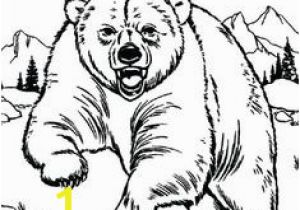 Bear In Cave Coloring Page 2155 Best Images