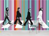 Beatles Abbey Road Wall Mural Baguio Patriotic High School Centennial