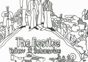 Beatles Yellow Submarine Coloring Pages Lovely Beatles Yellow Submarine Coloring Pages