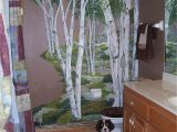 Beautiful Birch Tree Wall Mural Birch Tree Wall Mural for Downstairs Bath
