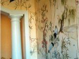 Beautiful Painted Wall Murals Custom Made asian Wall Mural Home Style
