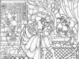 Beauty and the Beast Adult Coloring Pages Beauty and the Beast Stained Glass Google Search
