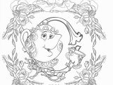 Beauty and the Beast Coloring Pages Disney Beauty and the Beast Coloringpagestoprint In 2020