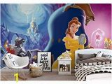 Beauty and the Beast Wall Mural Disney Princesses Beauty Beast Wallpaper Wall