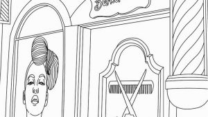 Beauty Salon Coloring Pages Hair Salon Coloring Pages Hellokids