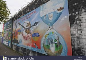 Belfast Peace Wall Murals Belfast Peace Wall Graffiti Stock S & Belfast Peace Wall