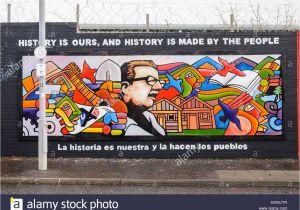 Belfast Peace Wall Murals Falls Road Belfast Stock S & Falls Road Belfast Stock
