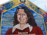 Belfast Wall Murals Bobby Sands Mural Picture Of Taxi Trax Belfast Tripadvisor