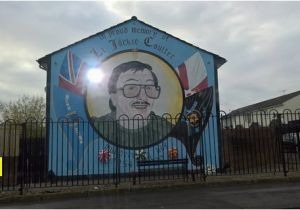 Belfast Wall Murals Uvf Mural Picture Of Paddy Campbell S Belfast Famous Black Cab