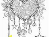 Belgium Coloring Pages Coloring Page Heart Dreamcatcher Coloring Book