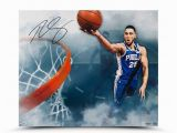 "Ben Simmons Coloring Pages the Entering Ben Simmons Handwriting Signature 24×20 Inch ""above the Clouds"" Art Poster Nba 76ers シクサーズ Ben Simmons Autographed ""above the Clouds"""
