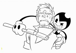 Bendy and the Ink Machine Coloring Pages Bendy and the Ink Machine Coloring Pages